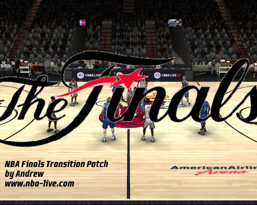 NBA Finals Transition Patch 08