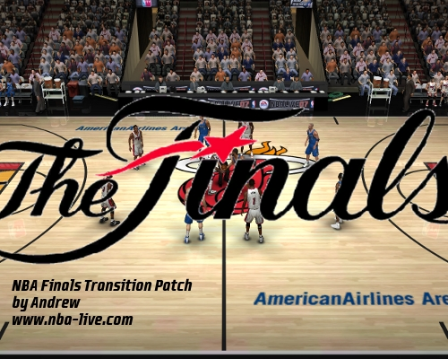 NBA Finals Transition Patch 07