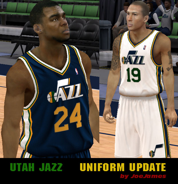 Utah Jazz Uniforms
