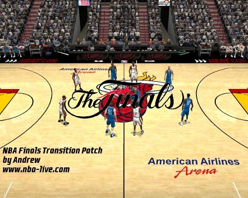 NBA Finals Transition Patch 2005