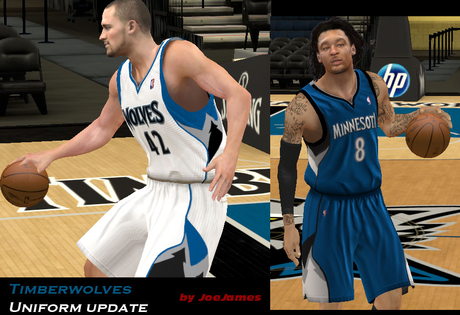 Minnesota Timberwolves Uniforms