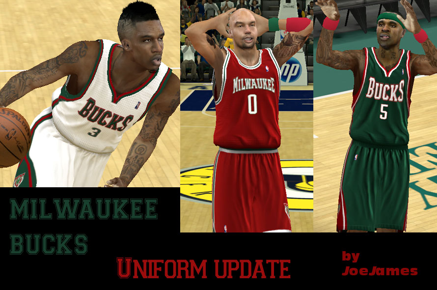 Milwaukee bucks uniforms