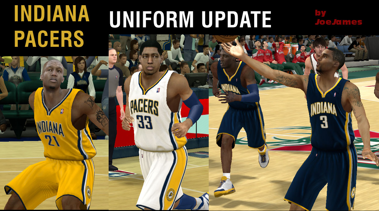 Indiana Pacers Uniforms