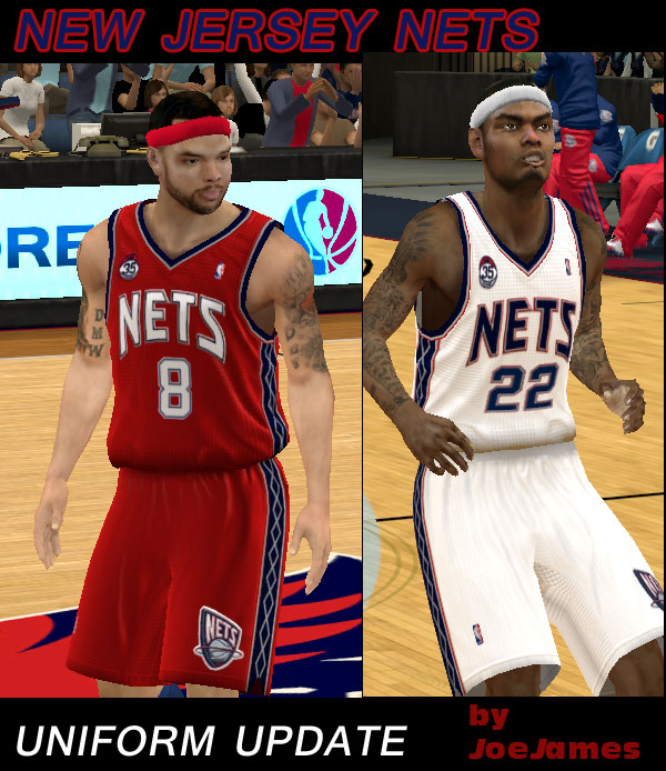 New Jersey Nets Uniforms