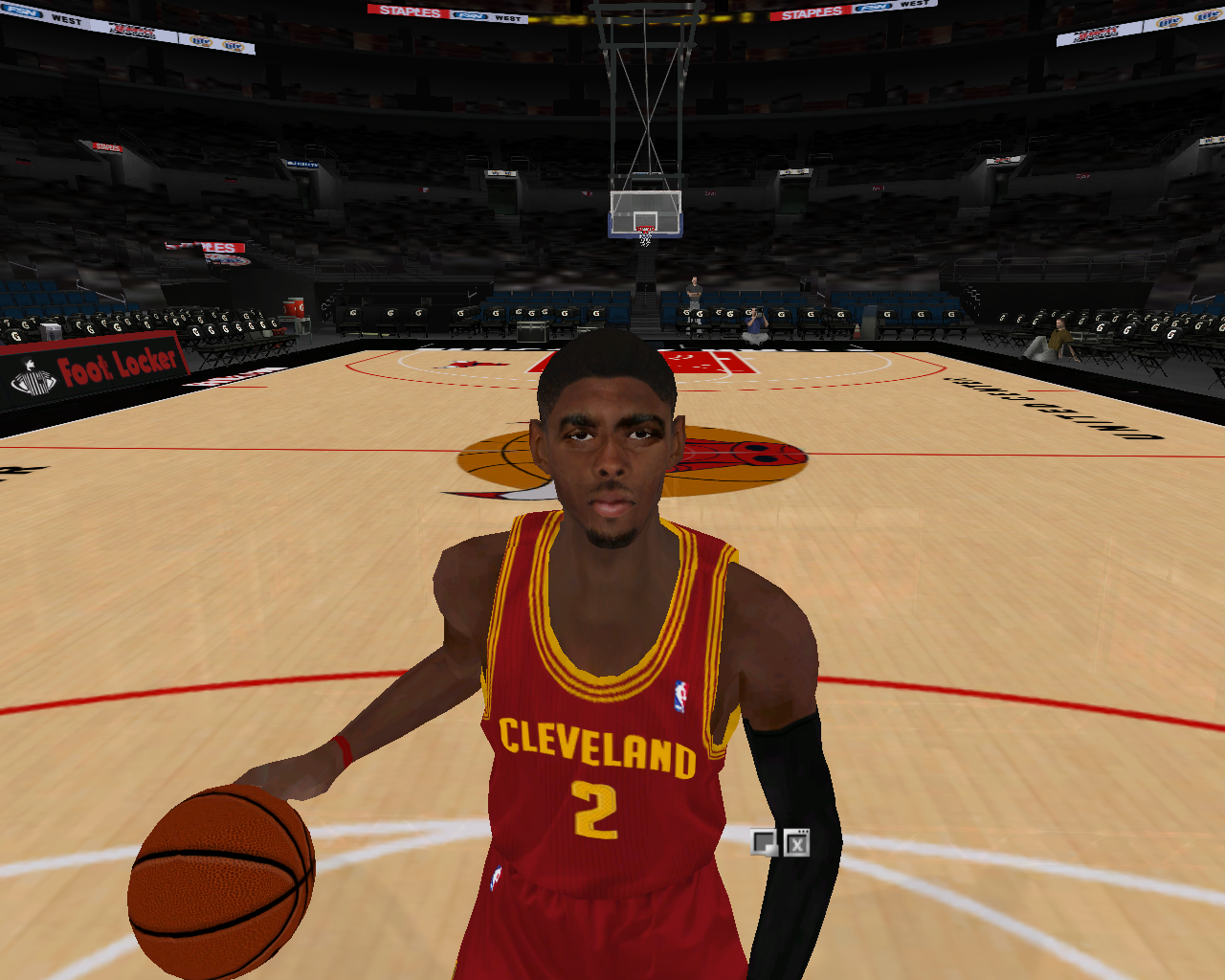 Kyrie Irving Face Patch