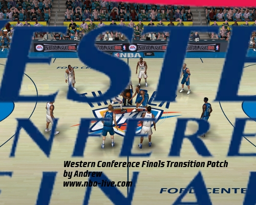 Western Conference Finals Transition Patch 06