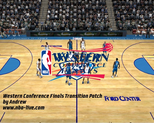 Western Conference Finals Transition Patch 2005