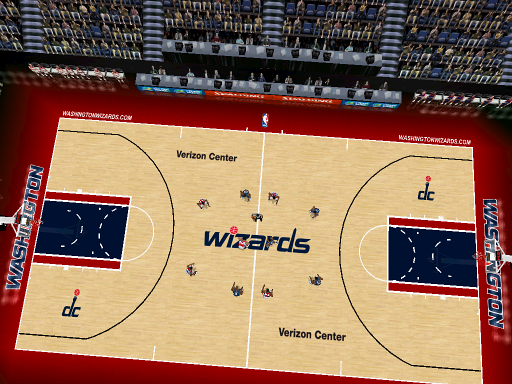Washington Wizards 2011/2012 Court Patch