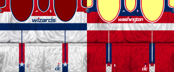Washington Wizards 2011/2012 Jersey Patch