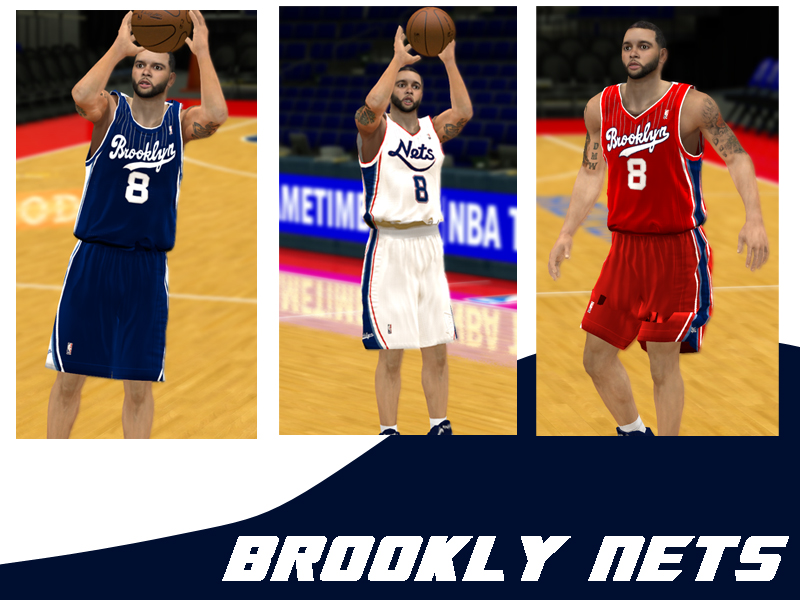 Brooklyn Nets Jerseys (Shoddy Concepts)
