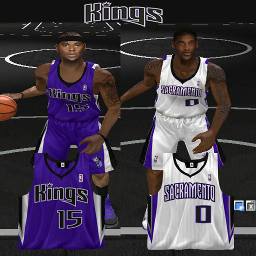 Sacramento Kings 2012/2013 Jersey Patch