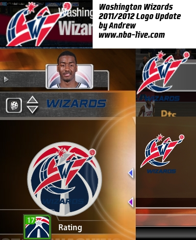 Washington Wizards 2011/2012 Logo Patch
