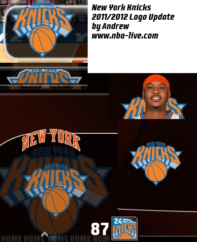 New York Knicks 2011/2012 Logo Patch
