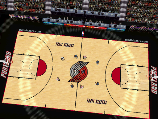 Portland Trailblazers Court Patch