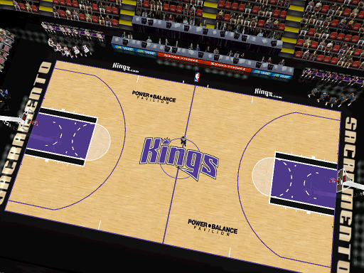 Sacramento Kings Court Patch