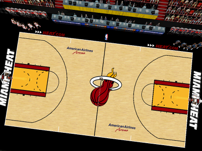 Miami Heat Court Patch