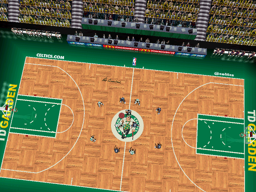 Boston Celtics Court Patch