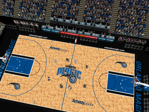 Orlando Magic Court Patch