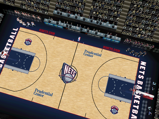 New Jersey Nets Court Patch