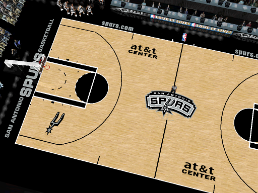 San Antonio Spurs Court Patch