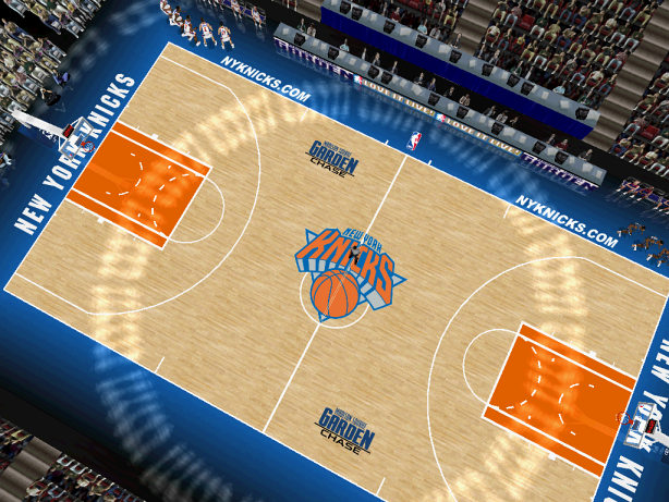 New York Knicks Court Patch
