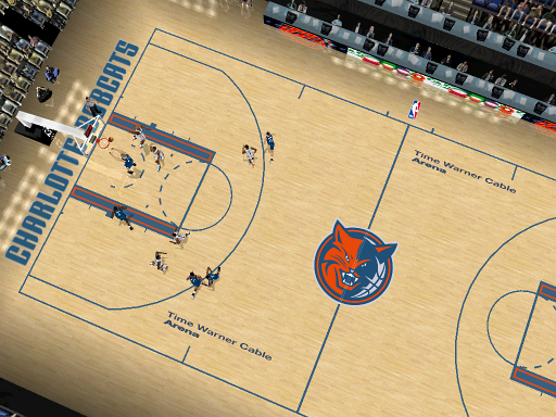 Charlotte Bobcats Court Patch