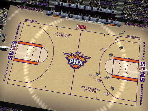 Phoenix Suns Court Patch
