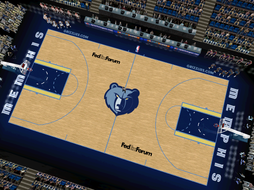 Memphis Grizzlies Court Patch