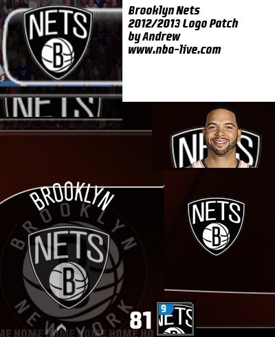 Brooklyn Nets 2012/2013 Logo Patch