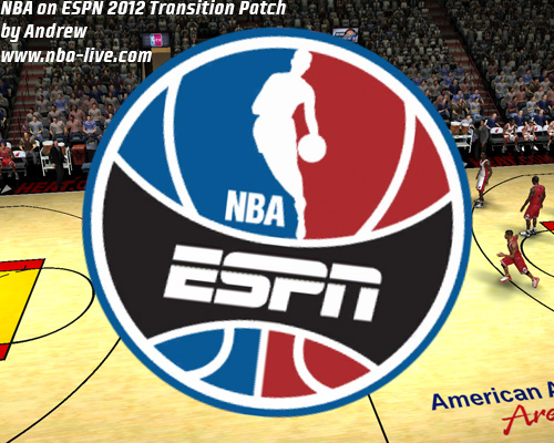 NBA on ESPN 2012 Transition Patch 06