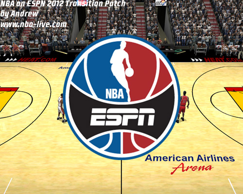 NBA on ESPN 2012 Transition Patch 2005