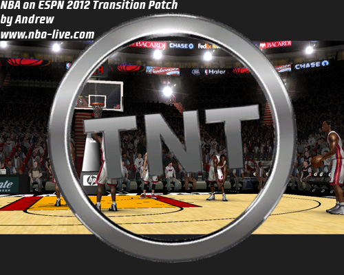NBA on TNT 2012 Transition Patch 08