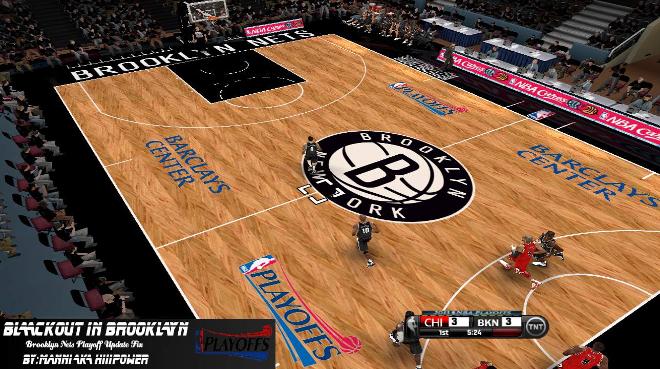 Brooklyn Nets 2012/2013 Court Patch