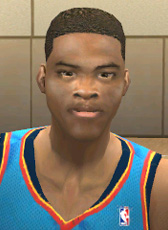 Russell Westbrook Face Patch