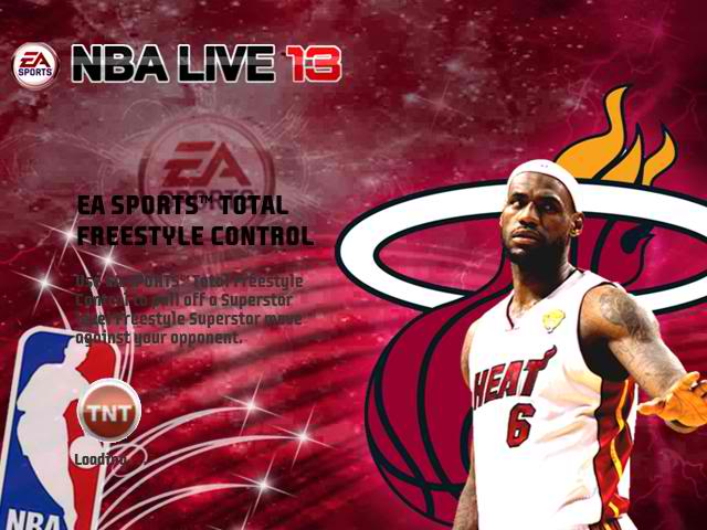 NBA LIVE 13 Loading Screens