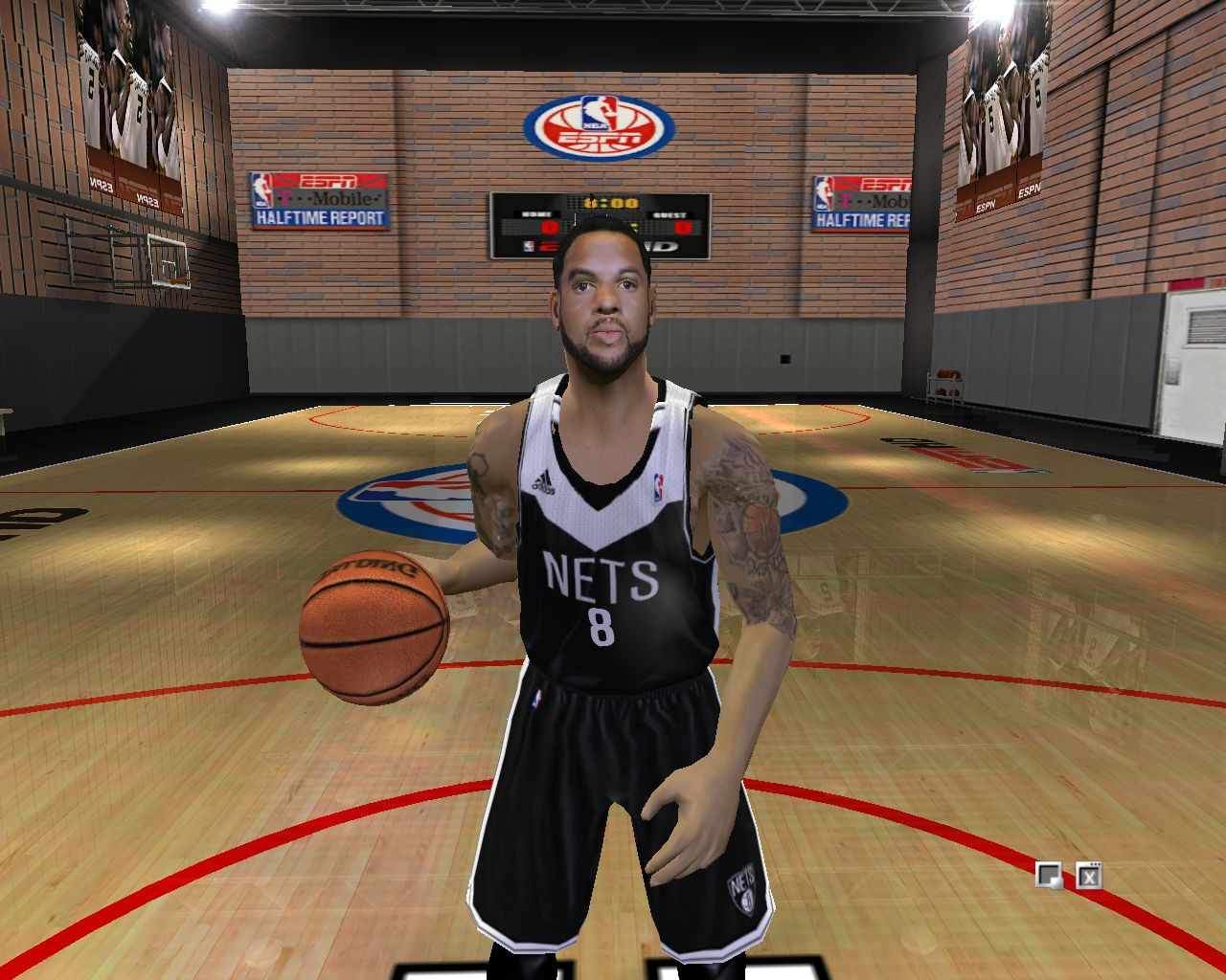 Brooklyn Nets Alternate Road Jersey 2012/2013