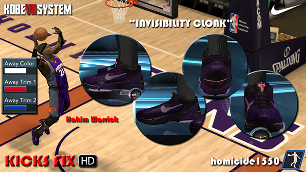 Nike Zoom Kobe VII HD - Invisibility Cloak