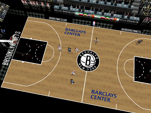 Brooklyn Nets Court Patch