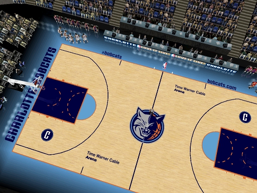 Charlotte Bobcats 2012/2013 Court Patch
