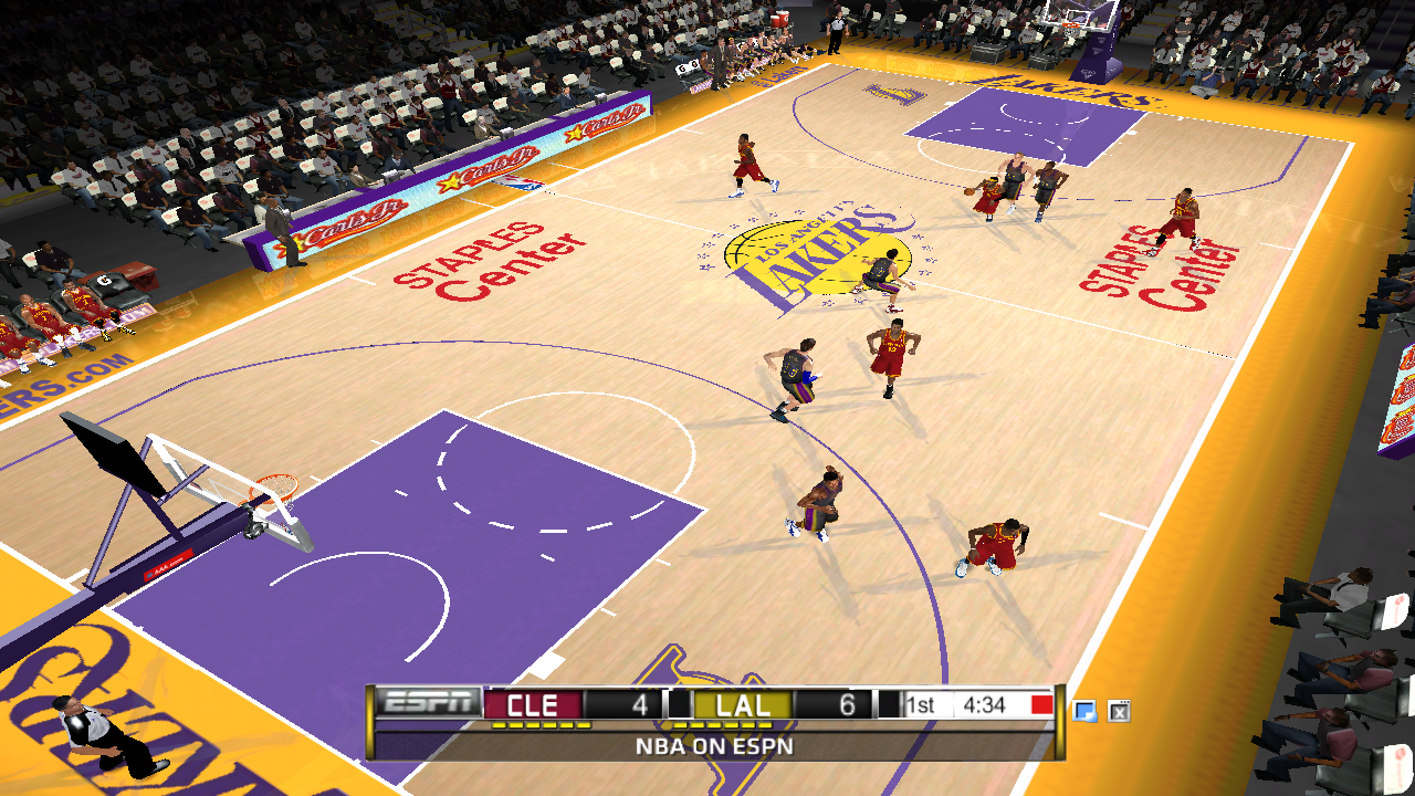 Los Angeles Lakers 2012/2013 Court Patch