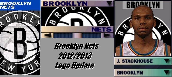 Brooklyn Nets 2012/2013 Logo Update