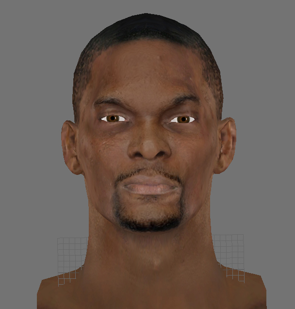 Chris Bosh Face