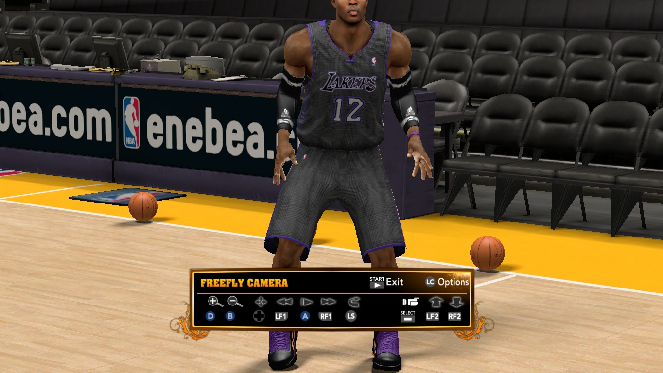 Los Angeles Lakers Carbon Jersey