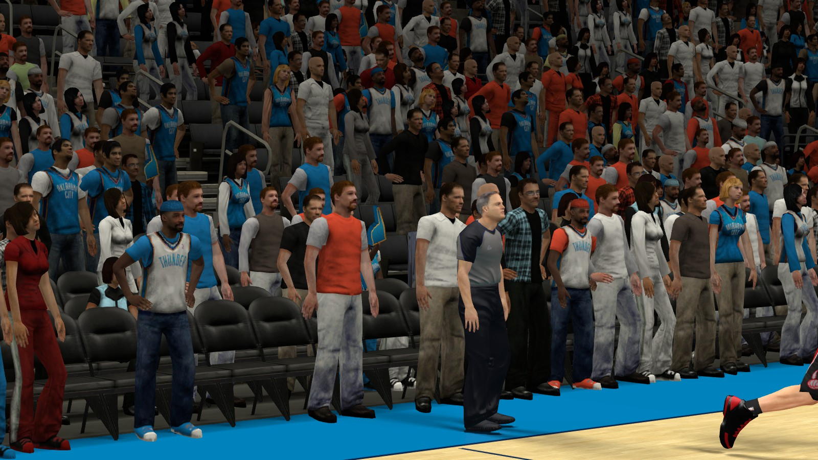 T-Neck's Retextured 2K13 Crowd