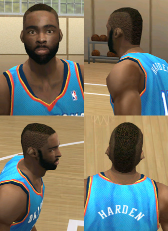 James Harden Face Patch