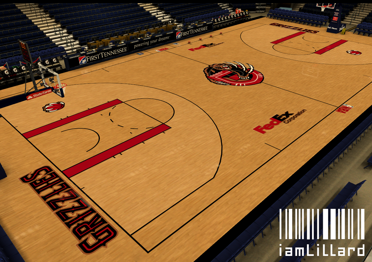Memphis Grizzlies Fictional Court for Faizdtk's Jerseys
