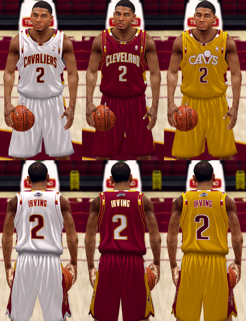 Cleveland Cavaliers Fictional Jersey
