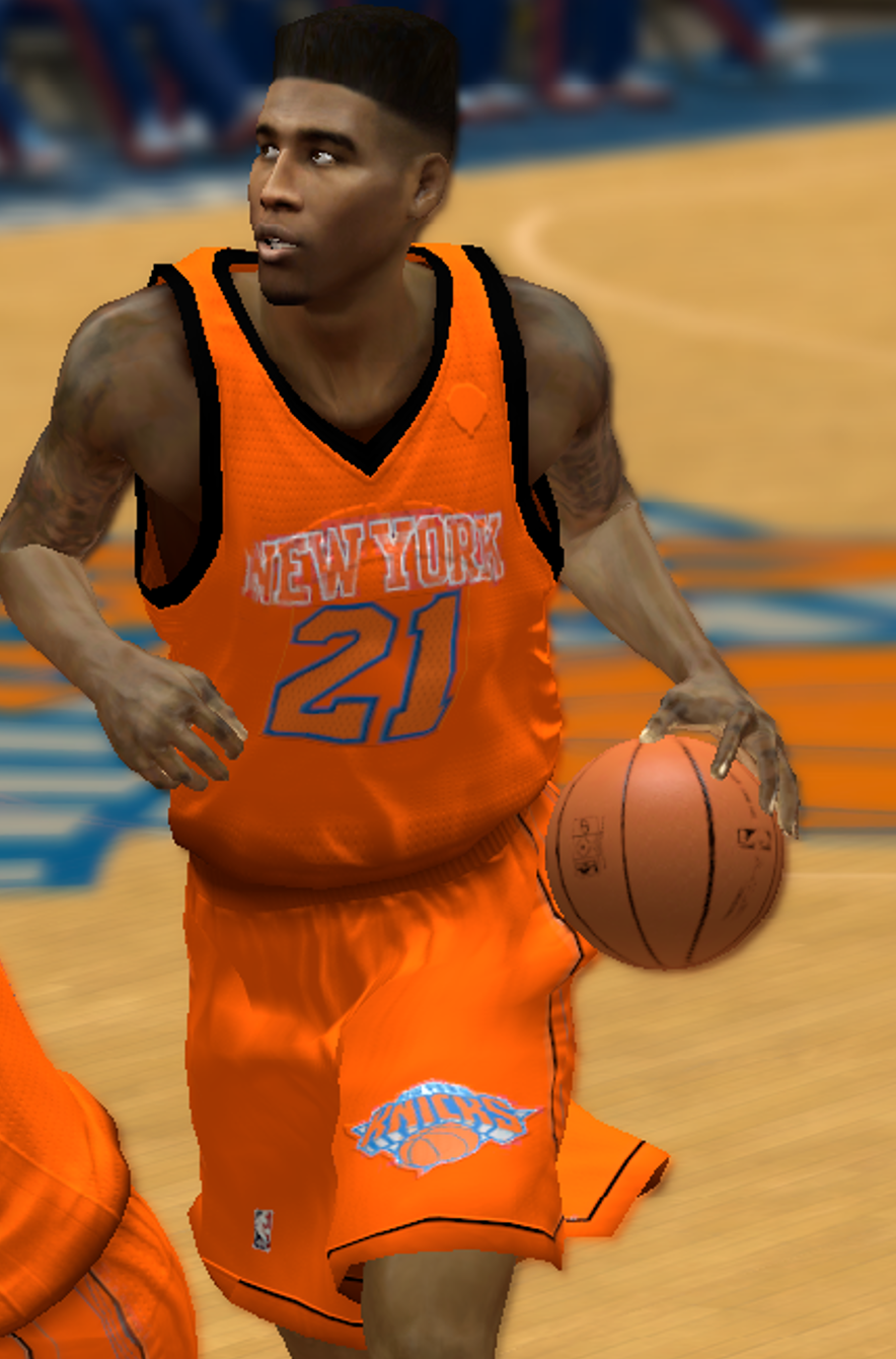 New York Knicks All-Orange Alternate Jersey
