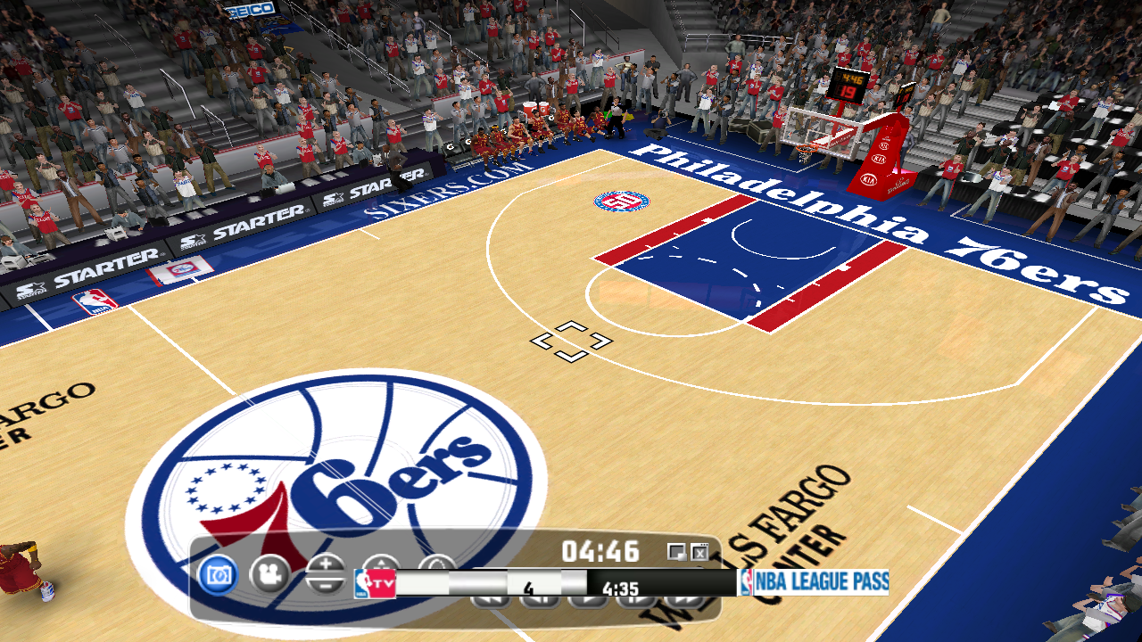 Philadelphia 76ers 2012/2013 Court Patch