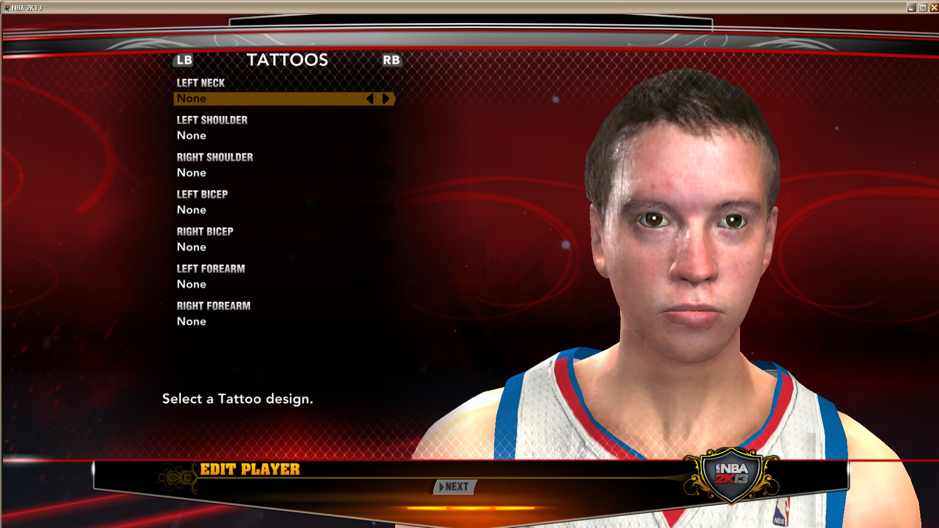 Andrew Hartsock (2K11 to 2K13 Conversion)